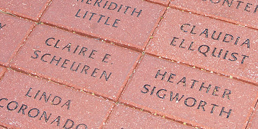 Engraved Paver, Small